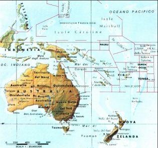 Australia E Nuova Zelanda Cartina.Lessons Tes Teach